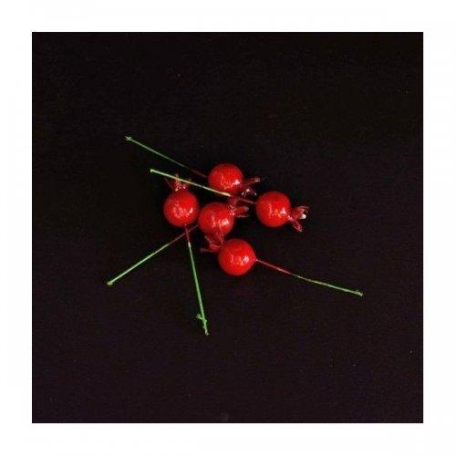 Fructe Artificiale Macese Cu Bat 30/set