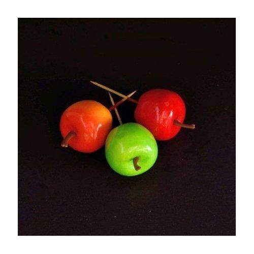 Fructe Artificiale Mere Cu Bat 10/set