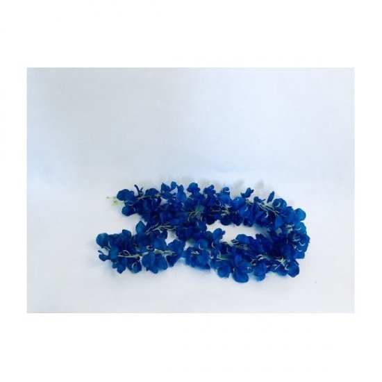 Ghirlanda Flori Artificiale Albastru