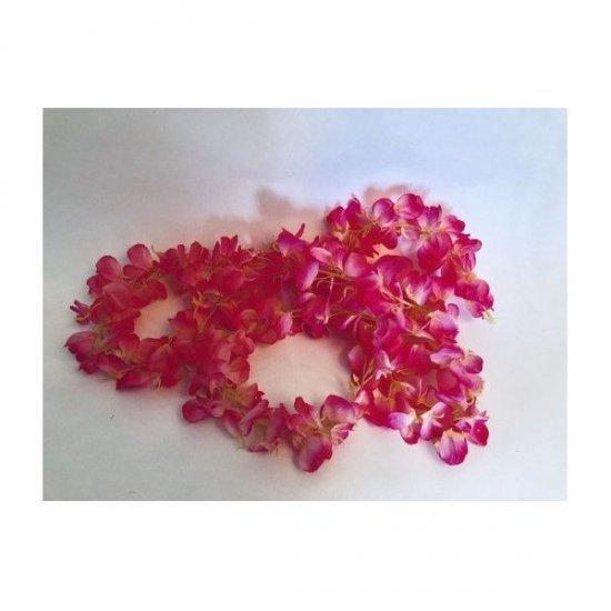 Ghirlanda Flori Artificiale Ciclam