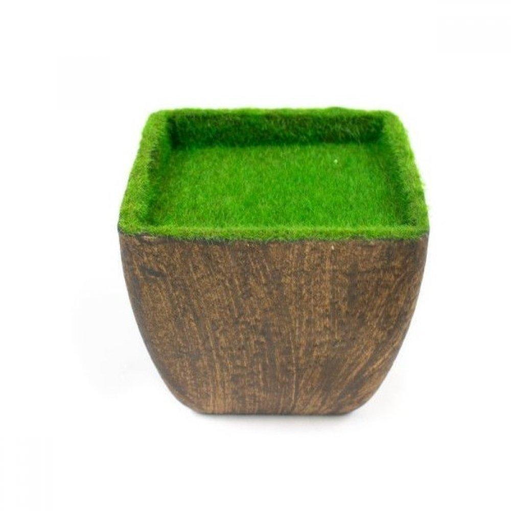 Ghivece Din Plastic Pline Pentru Aranjamente Florale model Patrat