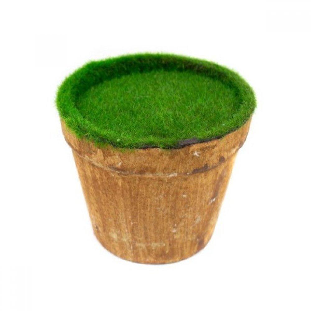 Ghivece Din Plastic Pline Pentru Aranjamente Florale model Rotund Mare