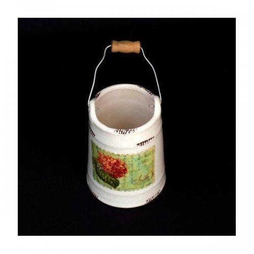 Ghiveci Ceramica Galeata Vintage