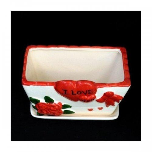 Ghiveci Ceramica Love Mare