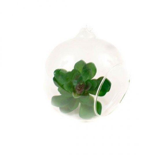 Glob Din Sticla Cu Orificiu 6.5 Cm