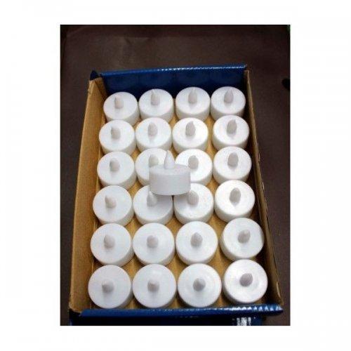 Lumanari Plastic Decorative Mici Cu Led 24/Set