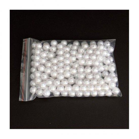 Margele Plastic Perle 14 Mm/500Gr