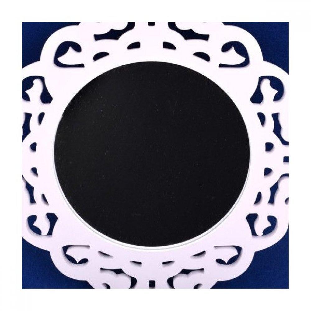 Oglinda Rama Lemn Perforat