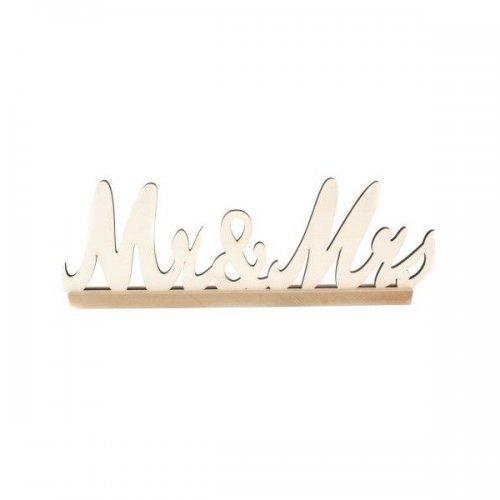 Ornamente Din Lemn Scris MR&MRS