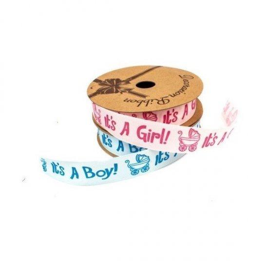 Panglica It's A Boy,It's A Girl 2,5 CM