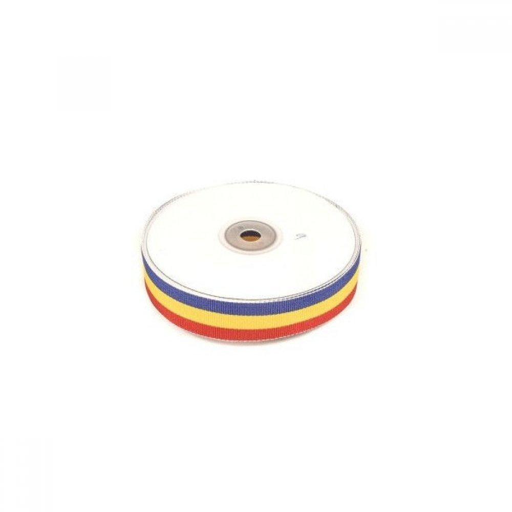 Panglica Tricolor Rips 2.5cm- 22m
