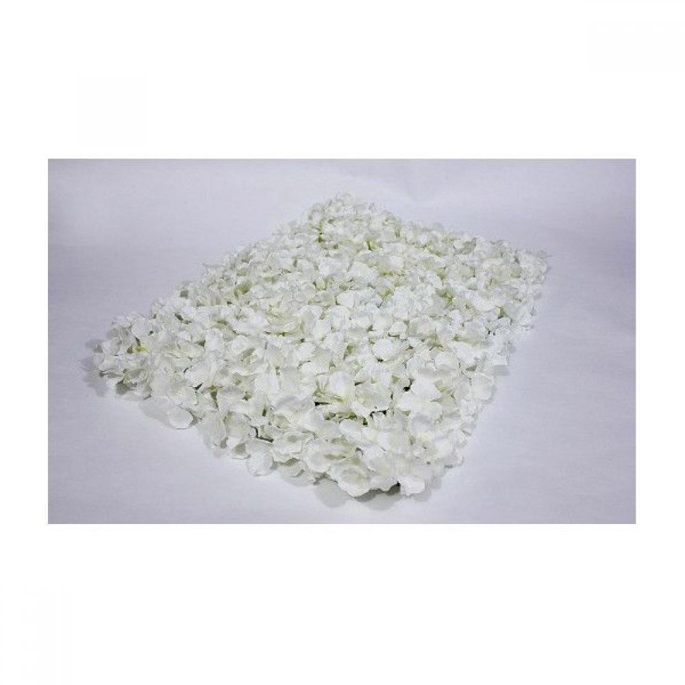 Panou Flori Artificiale Alb 40cm/60cm