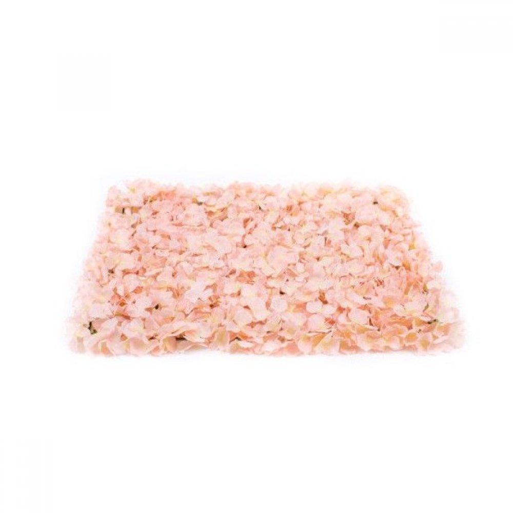 Panou Flori Artificiale Roz-Somon 40cm/60cm