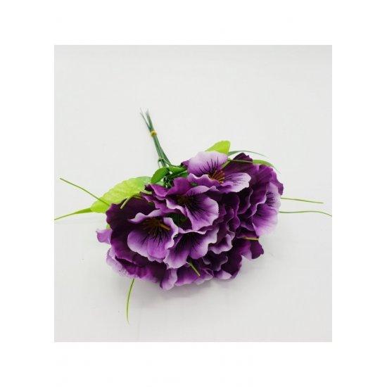Flori artificiale Panselute 6 fire
