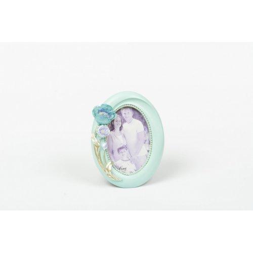 Rama Foto Rasina Ovala Bleu -  Bb113 10X15Cm