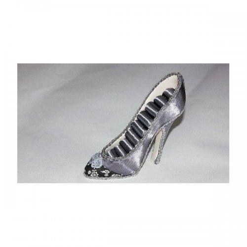 Suport Pentru Bijuterii In Forma De Pantof Gri