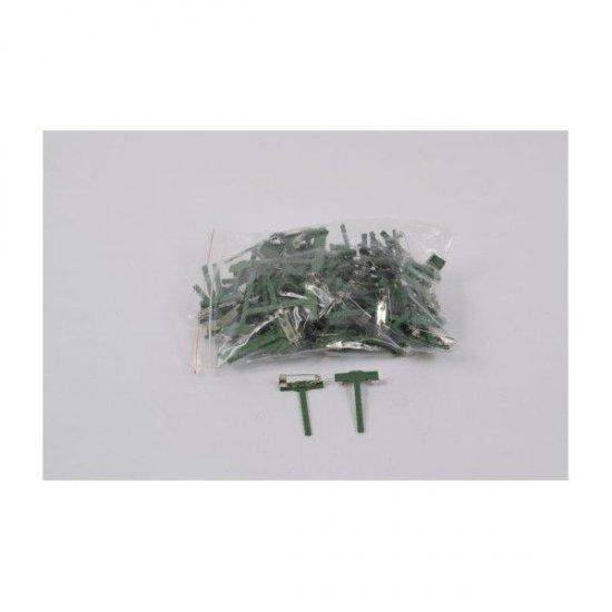 Suport Plastic Pentru Cocarde 4CM/2.5CM 100/set