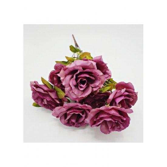 Flori artificiale Buchet 9 trandafiri Evelyn