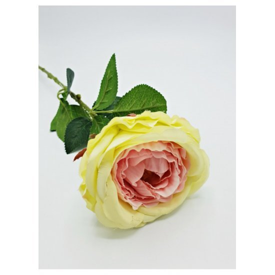 Trandafir galben artificial fir