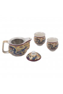Set Tea for Two, design cu dragon