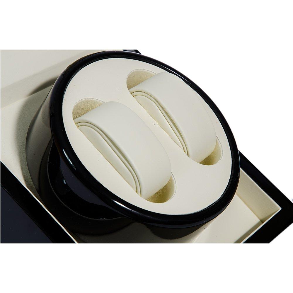 Cutie neagra pentru ceasuri automatice cu 2 pozitii rotative