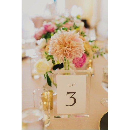Numere de masa, accesorii pentru nunta sau botez