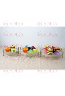 Set 3 Platouri Suport Candy Bar