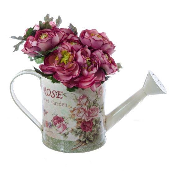Stropitoare Suport De Flori Cu Imprimeu Trandafiri