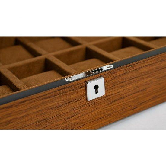 Cutie Luxury din lemn masiv pentru 12 ceasuri