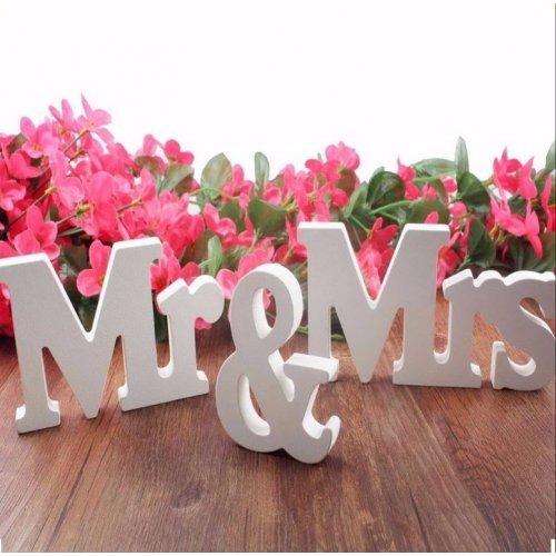 Litere 3D Decor Pentru Nunta