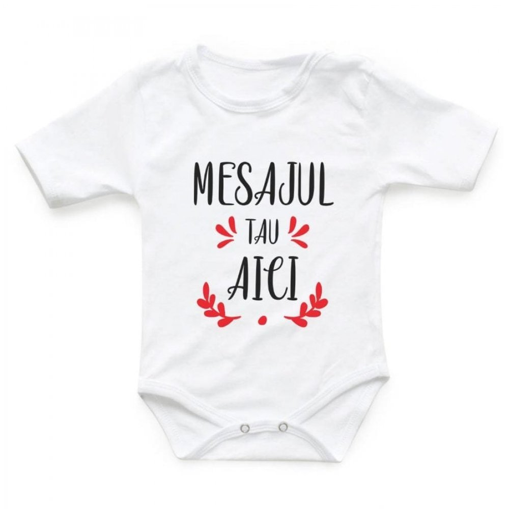 Body personalizat bebe - Personalizeaza cum vrei