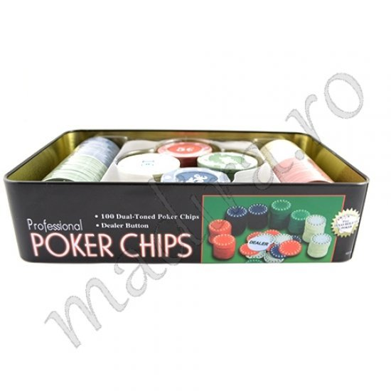 Joc de poker cu jetoane