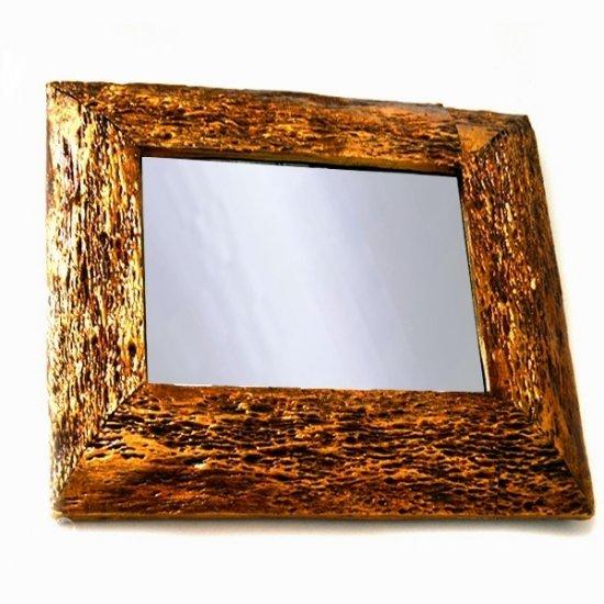 Oglinda de camera cu rama patrata