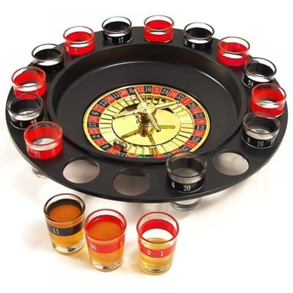 Ruleta functionala cu 16 shot-uri