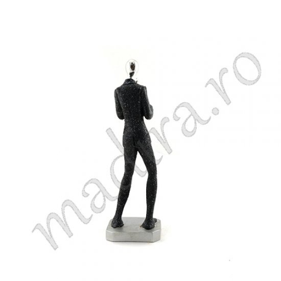 Statueta cantaret la trombon - decoratiune pentru interior