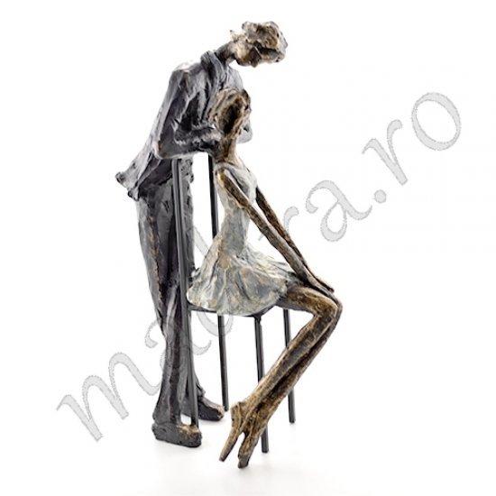 Statueta cuplu din rasina